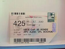 Football Ticket - AFC Ajax - VFL Bochum - 1997 UEFA