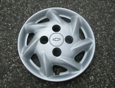 One factory 1998 to 2001 Chevy Metro 13 inch hubcap wheel cover mint