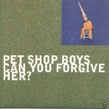 PET SHOP BOYS CAN YOU FORGIVE HER? MIXES + HEY HEADMASTER 4 TRACK CDS 1993