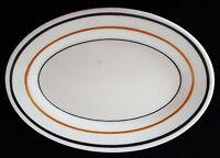 "Albert Pick Chicago Vitrified China Small Oval Platter Restaurant Diner 7 1/4"""