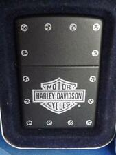 ZIPPO HARLEY DAVIDSON LIGHTER MOTORCYCLES STUD LOGO NEW 2005 COLLECTOR TIN