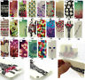Multi Patterned Gel Soft TPU Case Cover Skin for Apple iPod Touch 5th 6th GEN