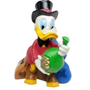 Scrooge McDuck Coin Bank Walt Disney Bullyland Bank Original Stopper RARE!!!