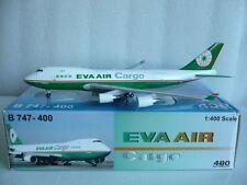 Aeroclassics Big Bird Eva Air Cargo B747-400, Reg.#B-16483, 1:400 Scale *RARE*