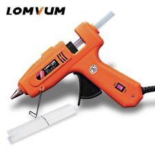 Pistola eléctrica de pegamento caliente derretir lomvum CALEFACTOR CALEFACCION con adhesivo herramienta de reparación de palo