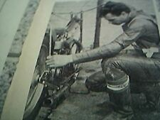 news item 1967 speedway greg kentwell repairs bike