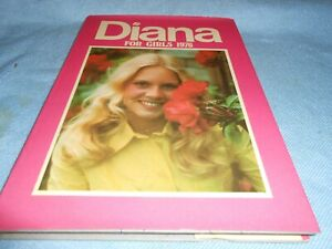 Vintage UK Annual - DIANA FOR GIRLS - 1976