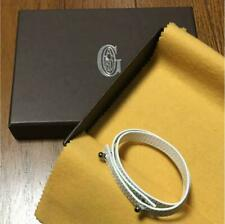 Limited Unused Takashimaya Japan Goyard Bracelet White Noverty