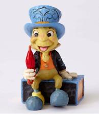 Jim Shore Disney Traditions Mini Jiminy Cricket on Matchbox Figurine 4054286 New