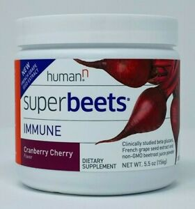 Humann SuperBeets - IMMUNE Super Beets Circulation Booster Cranberry Cherry NEW