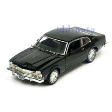 MOTORMAX 1974 FORD MAVERICK BLACK 1/24 DIECAST MODEL CAR 73326
