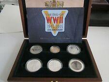 2005 Royal Mint Wwii fuerzas aliadas de prueba de Plata Moneda De Colección