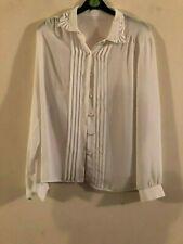St michael white shirt / blouse size 14