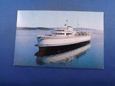 MV QUEEN OF TSAWWASSEN POSTCARD BRITISH COLUMBIA FERRY AUTHORITY BOAT SHIP