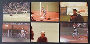 35 - Baltimore Orioles Early 1980's Original Type 1 Snapshot Photos Lot