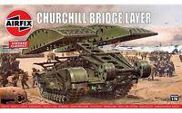 Airfix A04301V Churchill Bridge Layer Tank 1:76 Plastic Model Kit New & Sealed