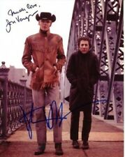 JON VOIGHT & DUSTIN HOFFMAN Signed MIDNIGHT COWBOY Photo w/ Hologram COA