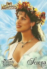 Xena Hercules HB4 Heavenly Bodies insert trading card Serena