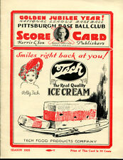 1925 World Series Pirates v Senators Program Opie Reprint 255/1000