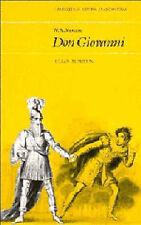 Good, W. A. Mozart: Don Giovanni (Cambridge Opera Handbooks), Rushton, Julian, B