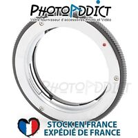 Bague d'adaptation objectif Olympus OM vers boitier Samsung NX