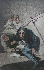 """Salvador Dali Goya los Caprichos"""" 54 Tarántula Firmado a Mano Numerada"""