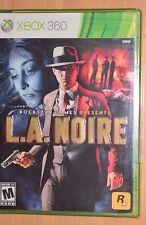 L.A. Noire (Xbox 360) NEW SEALED - Original Release Cover - LA Noir Video Game