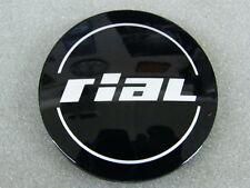 Original RIAL Nabenkappen N56 schwarz glänzend für Alufelgen Nabendeckel N 56