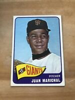 1965 TOPPS #50 JUAN MARICHAL HOF SF GIANTS— WELL CENTERED💥*** (wph)