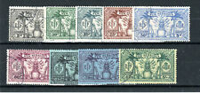 New Hebrides 1925 set to 5s (6.25fr) FU CDS