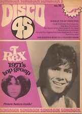 Cliff Richard on Disco 45 Mag No.15 Cover 1972   T. Rex  Benny Hill  John Lennon