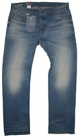 New G-Star Raw Mens Jeans 3301 Loose in Light Aged Colour Size W:40/L:36