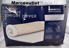 """Tempur-Pedic Adaptive Comfort 3"""" KING Memory Foam Topper"""