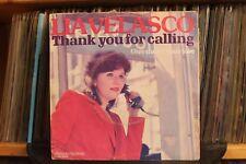 "7"" Single Lia Velasco - Thank You For Calling"