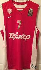 Olympiacos Olympiakos B.C. Euroleague Jersey Spanoulis #7