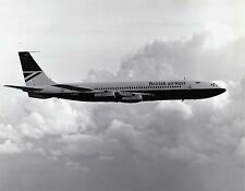 BRITISH AIRWAYS BOEING 707 G-ARRC IN FLIGHT -  6x4 inch PRINT