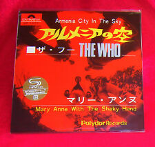 The Who Armenia City In The Sky / Mary Anne With The 7 Inch SHM MINI LP CD JAPAN