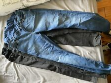 Maternity Skinny Jeans Over The Bump Size 8 4 Pairs