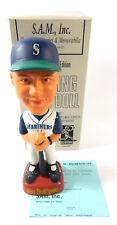 1998 SAM Bobbing Head Doll Alex Rodriguez Bobblehead Mariners Home Jersey COA