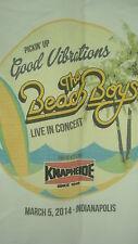 Beach Boys March 5 2014 Concert Shirt M Pickin Up Good Vibrations Knapheide Indy