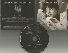 ANITA BAKER w/ GEORGE DUKE Body & Soul w/ RARE EDITS PROMO DJ CD Single 1994 US