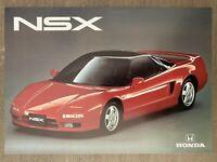1993 Honda NSX original Australian sales brochure