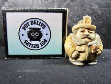 "Pot Bellies Fireman "" Flame Tamer "" Figurine In Box"