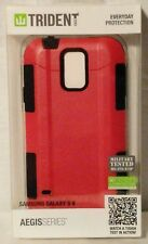 Samsung Galaxy S5 Trident Aegis Pink Case Hybrid 2-Layer Military Grade Cover