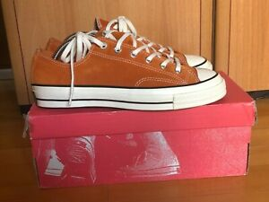 Converse 1970s Chuck Taylor All Star Ox Suede - Orange Bitter - 8 UK