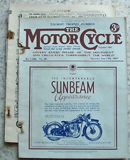 The MOTOR CYCLE Magazine 17 Jun 1937 TT NUMBER   COVENTRY EAGLE 500