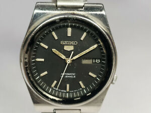 Vintage Seiko 5 Mechanical Automatic Movement Mens Wrist Watch WU353 F