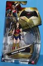"MATTEL / DC COMICS BATMAN v SUPERMAN 6"" Action Figure WONDER WOMAN"