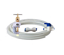 American Fridge Freezer Water Filter Connection Plumbing Kit and Tubing fits all
