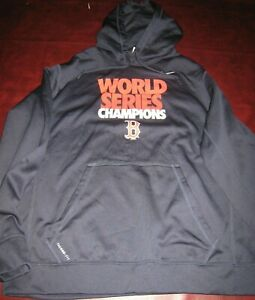 Boston Red Sox 2013 World Series Hooded Sweatshirt Nike Therma-Fit XL